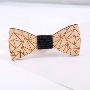 🎯 Unique Men's Wood Bow tie 🛎✨💫